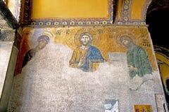 Deisis - Hagia Sofia Royaltyfri Foto