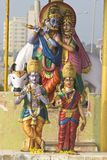 Deities of Radha and Krishna Stock Image