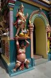 DEITIES SEEN IN AN INDIAN TEMPLE Stock Image