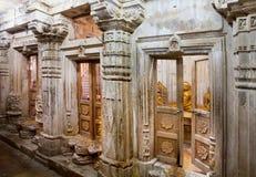 Deity binnen de tempel in Rajasthan Royalty-vrije Stock Afbeeldingen