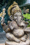 Deity Ganesh giving blessings. Statue of Diety Ganesh shown giving blessings Stock Photo