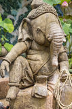 Deity Ganesh in relaxed pose Stock Images