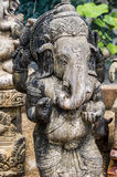 Deity Ganesh standing. Statue of Diety Ganesh shown in standing pose Stock Image