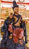 Deity statues in Phra Mahathat Kaen Nakhon Royalty Free Stock Photography