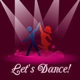 Deixa a dança Imagem de Stock