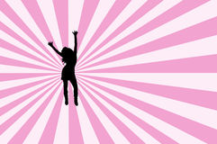 Deixa a dança Fotografia de Stock Royalty Free