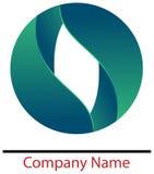 Deixa o logotipo Imagens de Stock