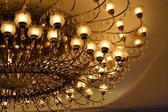 Deixado haja umas luzes Fotografia de Stock Royalty Free