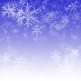 Deixais lhe para nevar Fotografia de Stock