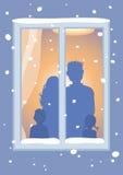 Deixais lhe para nevar! Ilustração Stock