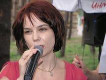 Deixe-nos cantar! Fotos de Stock