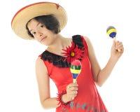 Deixe-nos dançar para Cinco de Mayo Imagem de Stock Royalty Free