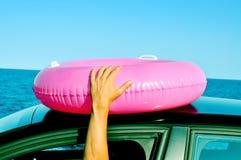 Deixe-nos ir à praia Fotografia de Stock Royalty Free