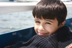 Deixe-nos ir em um passeio do barco! Imagens de Stock Royalty Free