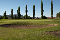 Deixe-nos jogar o golfe Imagem de Stock
