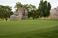 Deixe-nos jogar o golfe Imagens de Stock