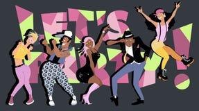 Deixe-nos party! Fotografia de Stock Royalty Free