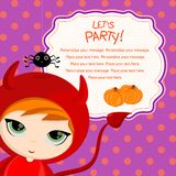 Deixe-nos party_devil Imagens de Stock Royalty Free