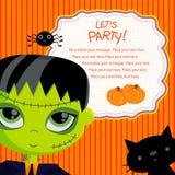 Deixe-nos party_frankie Imagem de Stock Royalty Free
