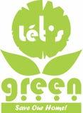 deixe-nos verdes Foto de Stock Royalty Free