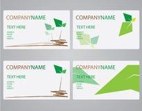 Deixe o nome de cartão Imagem de Stock Royalty Free
