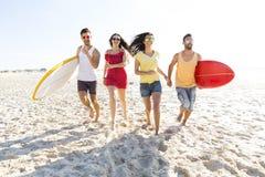 Deixe o ` s ir à praia Fotografia de Stock