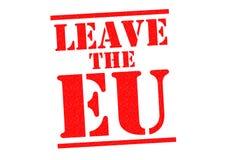 Deixe a UE Fotografia de Stock Royalty Free