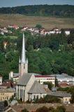 Dej市在罗马尼亚 免版税库存图片
