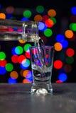 Deja la bebida Imágenes de archivo libres de regalías