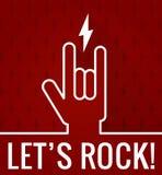 Deja la roca Imagen de archivo libre de regalías