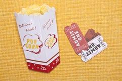 Deja para ir a las películas Foto de archivo libre de regalías