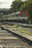 Dejar el tren Imágenes de archivo libres de regalías