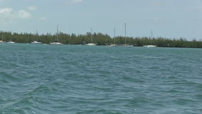 Dejar Key West, la Florida almacen de video