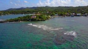 Dejar la costa de la isla metrajes