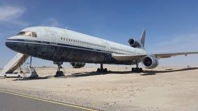 Deje el avión Imagen de archivo libre de regalías