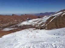 Deje el esquí del ` s Foto de archivo libre de regalías