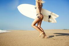 Deje el ` s golpear las ondas Fotografía de archivo libre de regalías