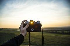 Deje el ` s tomar una foto Fotos de archivo libres de regalías