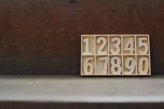 Deje la cuenta del ` s los números Imagen de archivo
