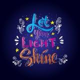 Deje su brillo ligero Fotografía de archivo libre de regalías