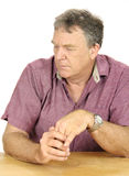 Dejected Man Royalty Free Stock Photography