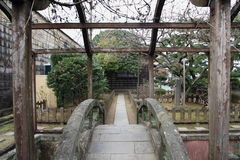 Dejima海岛在长崎 免版税库存照片
