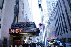 Dek van de de studio'sobservatie van New York NYC het NBC- Royalty-vrije Stock Fotografie