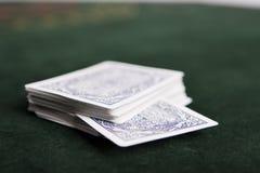 Dek van kaarten royalty-vrije stock afbeeldingen