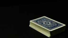 Dek van kaarten royalty-vrije stock afbeelding