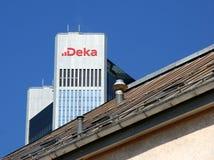 Deka Bank-toren Stock Afbeeldingen