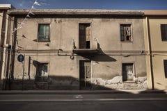 Dekadent hus i Muravera arkivbilder
