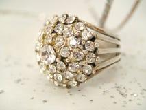 dekadenta diamanter Royaltyfri Fotografi