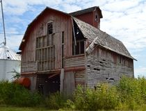 Dekalb County ladugård Fotografering för Bildbyråer