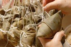 dekatyzujący klucha ryż Obraz Stock
